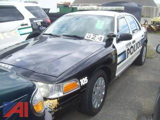 2011 Ford Crown Victoria 4 Door/Police Interceptor (Parts Only)