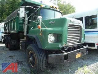(#14) 1991 Mack MR688S Dump