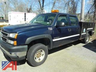 (#3) 2007 Chevy Silverado Classic 2500HD Pickup with Utility Body