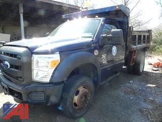 (#7) 2011 Ford F450 Super Duty Dump Truck