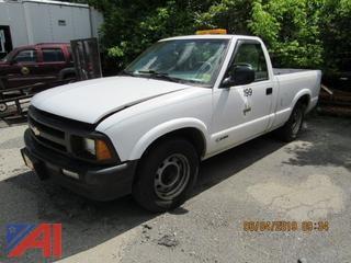 1996 Chevy S10 Pickup Truck