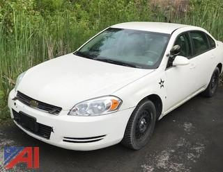 2008 Chevy Impala 4 Door/Police Interceptor