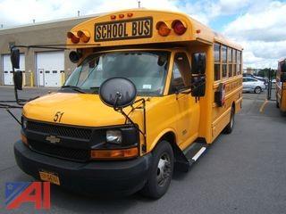 2014 Chevy Express G3500 Mini School Bus