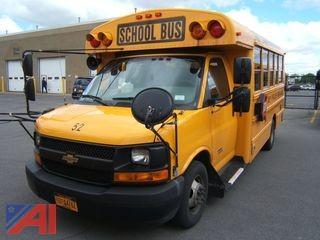 2014 Chevy Express G4500 Mini School Bus