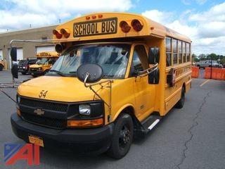 2015 Chevy Express G4500 Mini School Bus