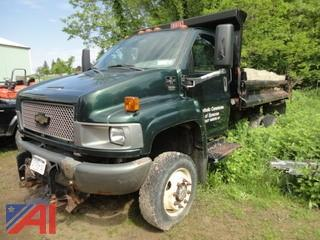 2005 Chevy C4500 Dump Truck with Plow