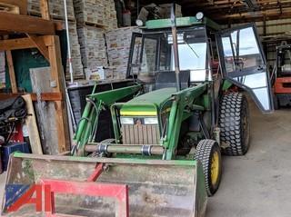 1990 John Deere 1070 Tractor