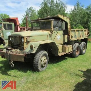 1965 Kaiser Military Dump Truck