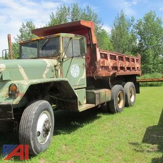 1975 TMA Military Dump Truck