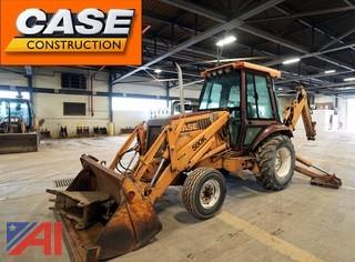 1990 Case 580K Construction King Loader Backhoe