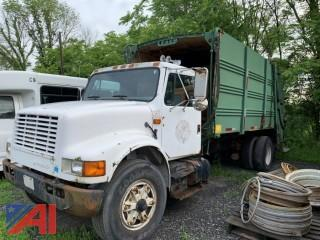 1990 International 4900 Packer Garbage Truck