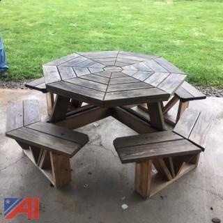 Octagon Picnic Tables