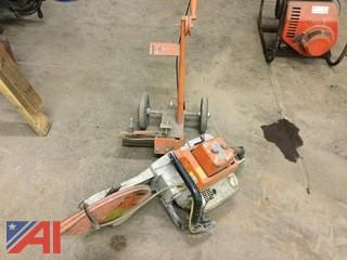 Stihl TS510AV with Cart
