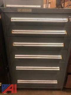 6 Drawer Stanley Vidmar Tool Cabinet