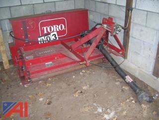 Toro 83 Aerothatch with 93 Seeder