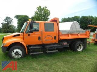 2005 International 4200 Dump Truck with Crew Cab