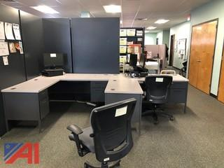 Workstation Desks-2 Piece