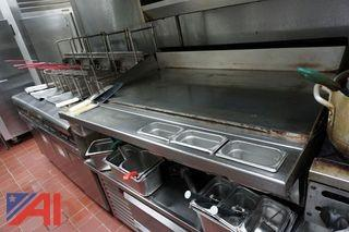 Keating Mirror Top Gas Griddle