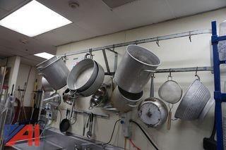 Two Tier Steel Pot Rack