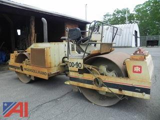 Ingersoll-Rand DD-90 Double Roller