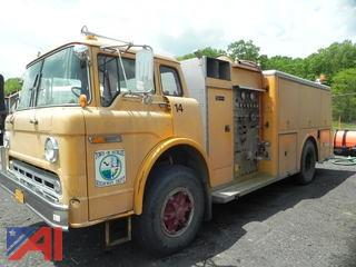 1986 Ford C8000 Fire Truck