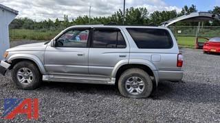 2001 Toyota 4 Runnner SR5 SUV