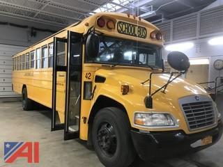 (#42) 2011 Blue Bird Vision School Bus