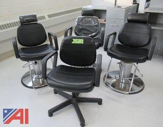 Hydraulic Barber Chair /Hair Styling Station Chairs & Reclining Shampoo Chair