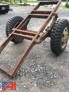Army Trailer Frame