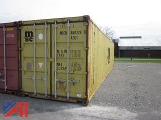 8' x 40' Standard Steel Container
