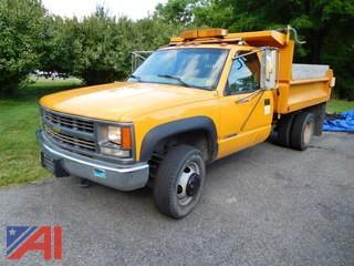 2000 Chevy C/K 3500 Dump Truck