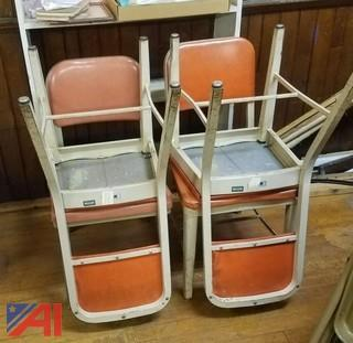 Wooden and Steel Chairs