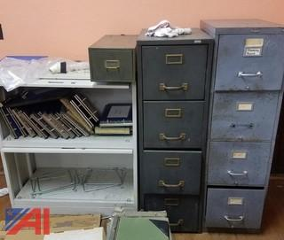 Filing Cabinets and Shelf