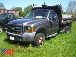 2006 Ford F350 XL Super Duty Dump Truck