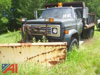 1987 Chevy C6D042 Dump Truck with Plow