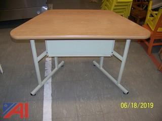 Modular Computer Work Tables