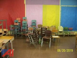 Assorted Style, Student Metal Framed Chairs