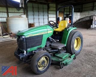 "John Deere 4310 Utility Tractor with 72"" Mower"