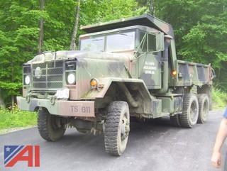 1985 AM General M929 6x6 Dump Truck