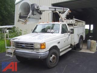 1991 Ford F450 Super Duty Bucket Truck