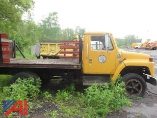 1987 International S1600 Stake Rack with Lift Gate