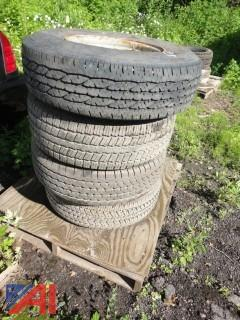Miscellaneous Truck Tires on Rims