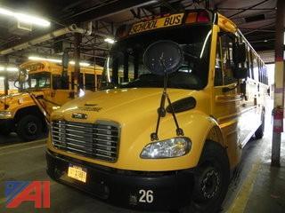 (#6) 2009 Freightliner Thomas B2 School Bus