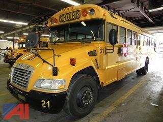 (#1) 2008 Blue Bird Vision School Bus