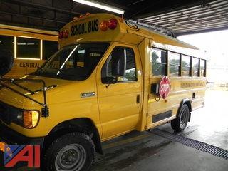 (#9) 2007 Ford E350 Super Duty Mini School Bus