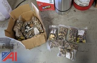 Box of Various Brass Fittings