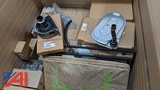 Boxes of Various Automotive Parts