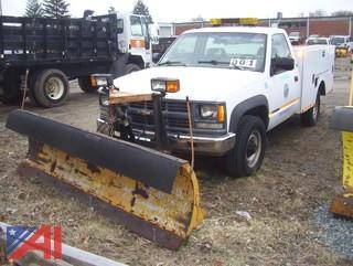 1994 Chevy Utility Truck with Plow