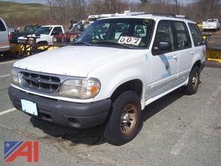 2000 Ford Explorer XL SUV