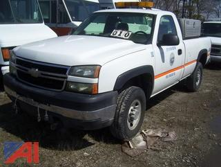 **Lot Updated** 2006 Chevy Silverado 2500HD Pickup Truck